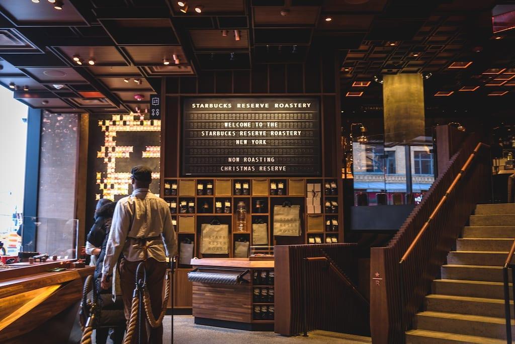 Starbucks Reserve In Nyc New York Roastery