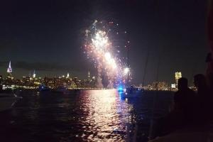 4th of July Fireworks over Manhattan