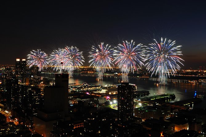 Fireworks over the East River
