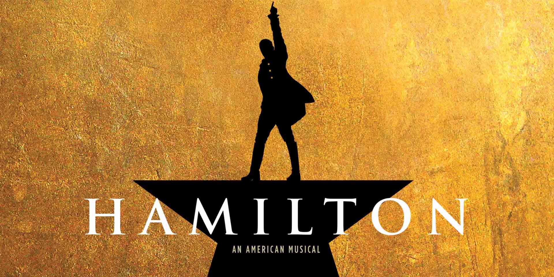 Hamilton Broadway Poster