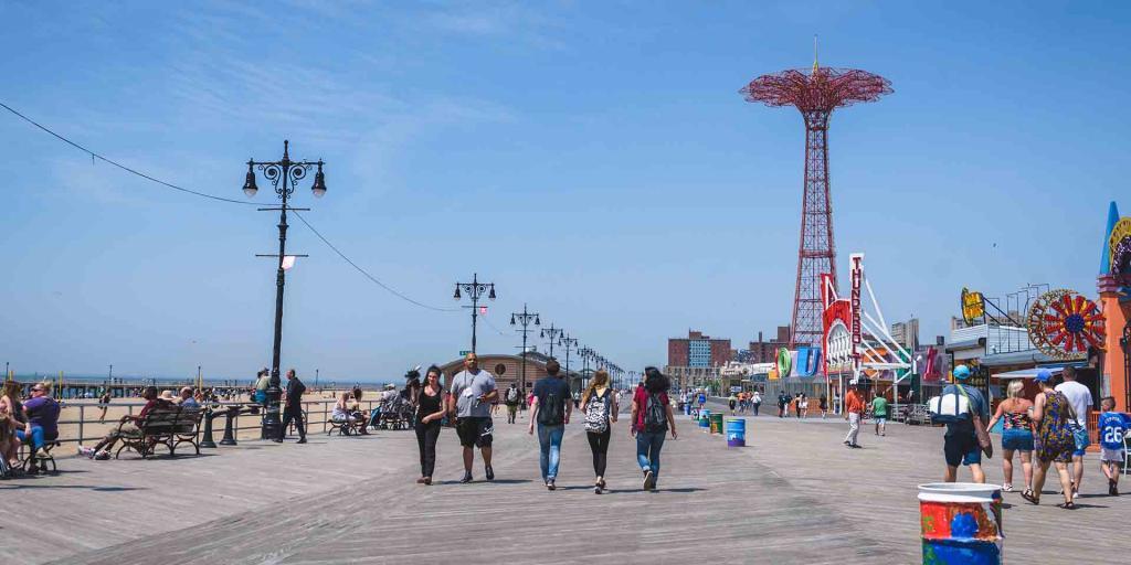 Brighton Beach Boardwalk New York