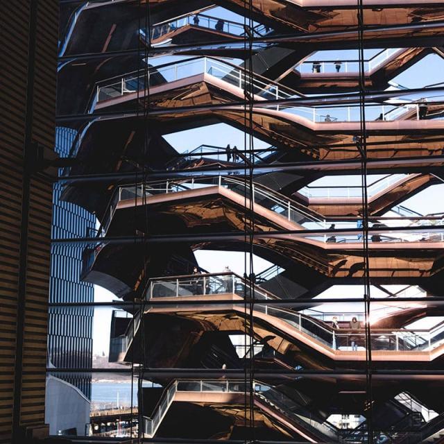 The Vessel at Hudson Yards