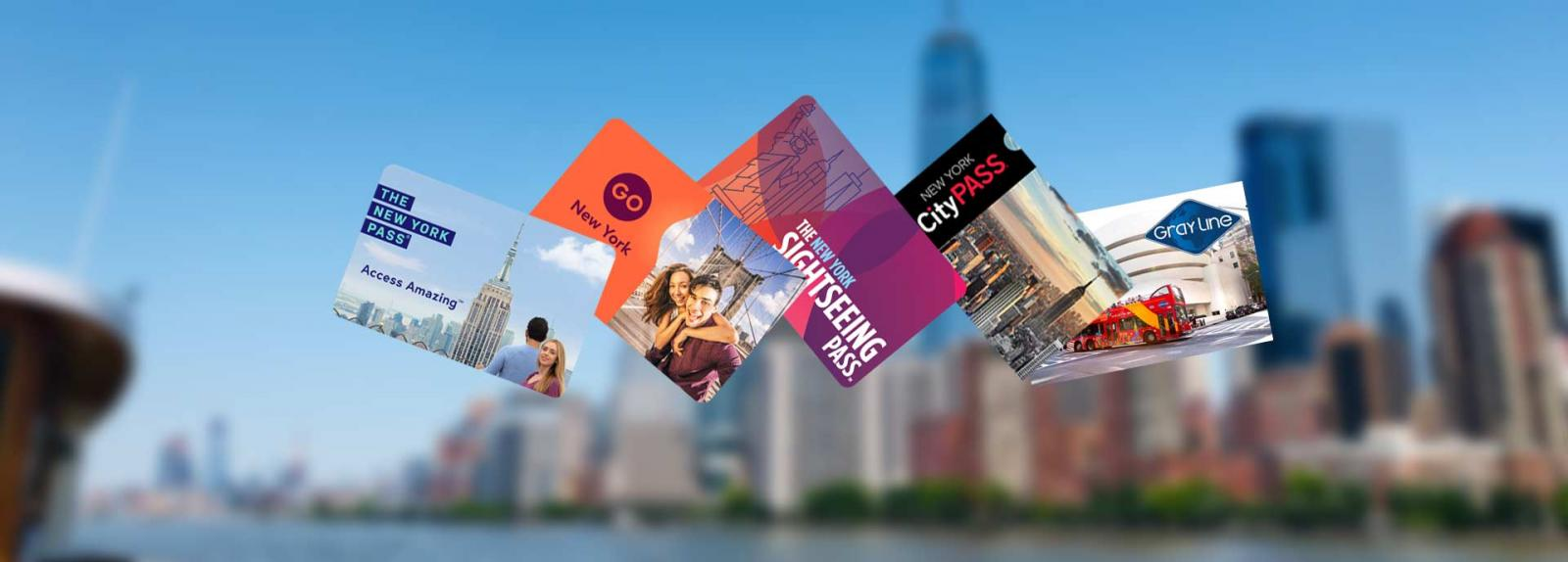Comparison of the New York Pass, Go Explorer Pass, CityPASS, NYC Sightseeing Pass and FreeStyle Pass