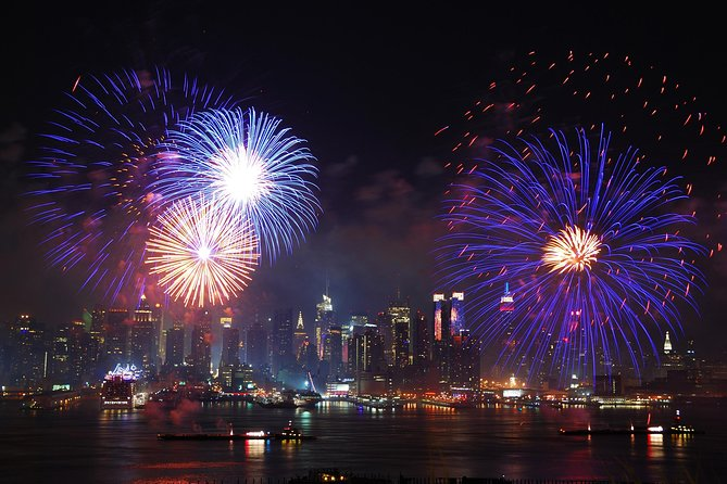 Fuegos artificiales en New York City