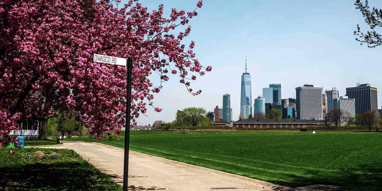Governors Island in the summer
