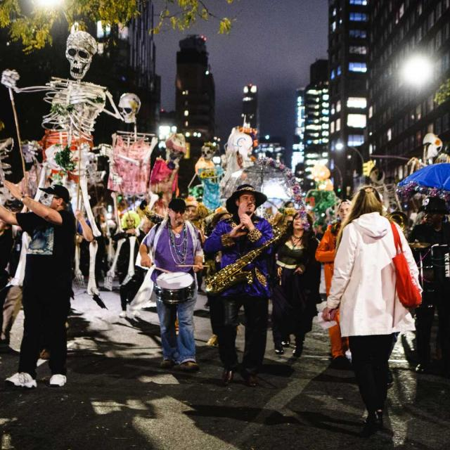 Village Halloween Parade in NYC