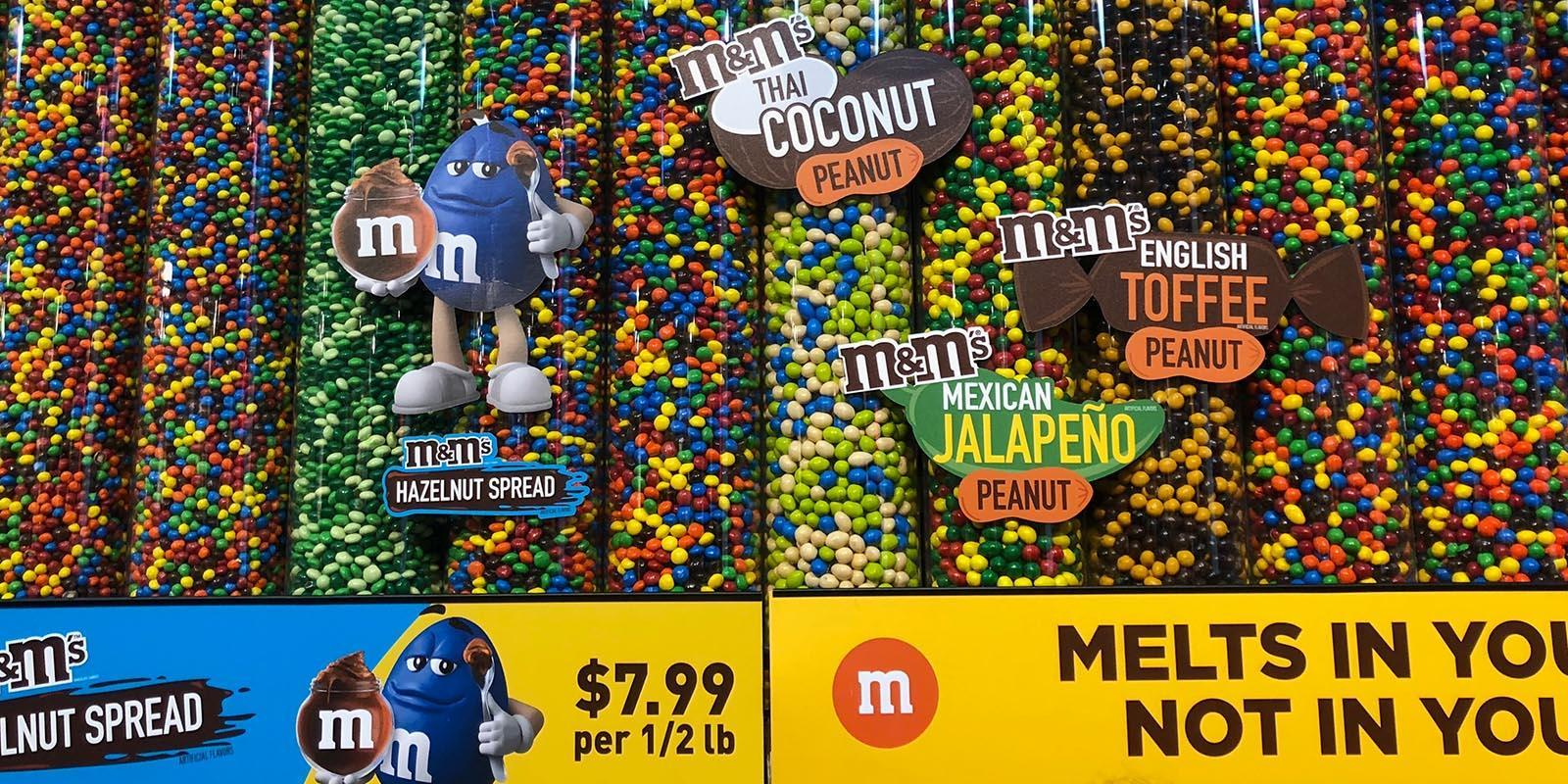 ▷ M&M's World   Times Square NYC