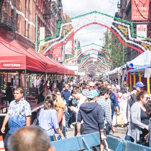 The Feast of San Gennaro in Little Italy