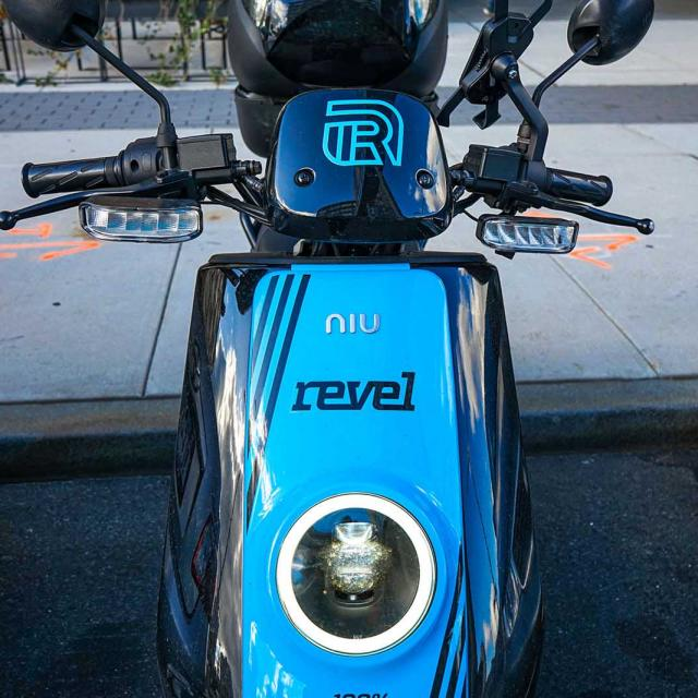 Riding electric mopeds with Revel in NYC