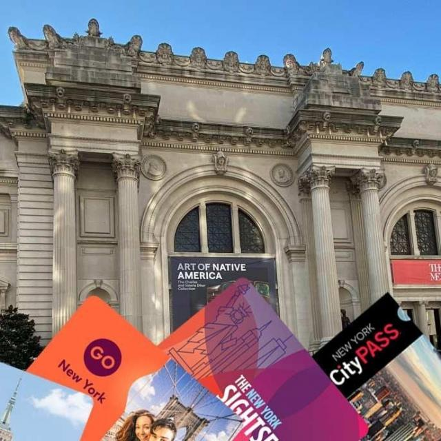 Museums included in the New York Sightseeing Passes