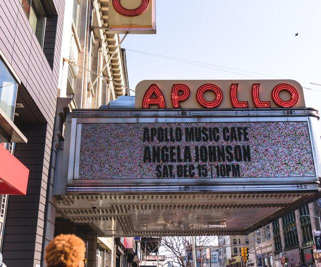 Apollo Theater in NYC