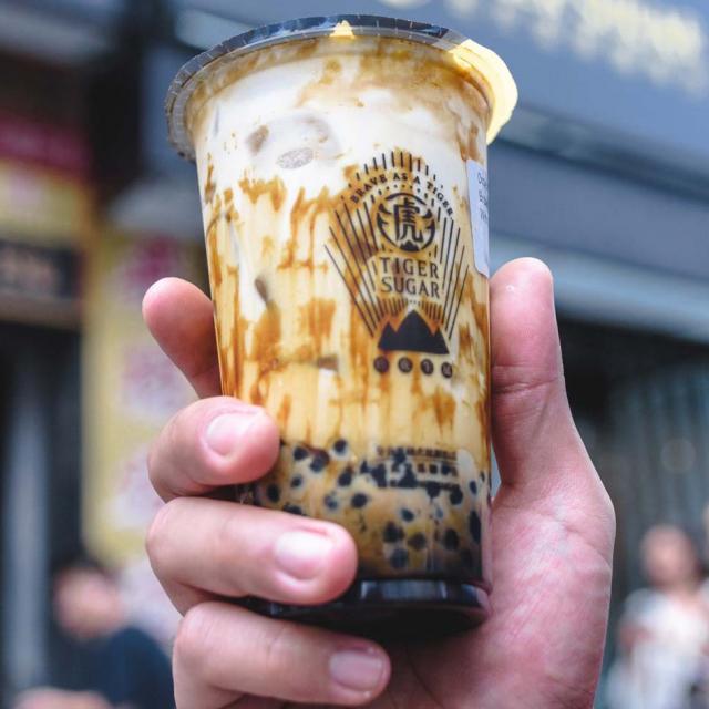 Tiger Sugar in Chinatown NYC