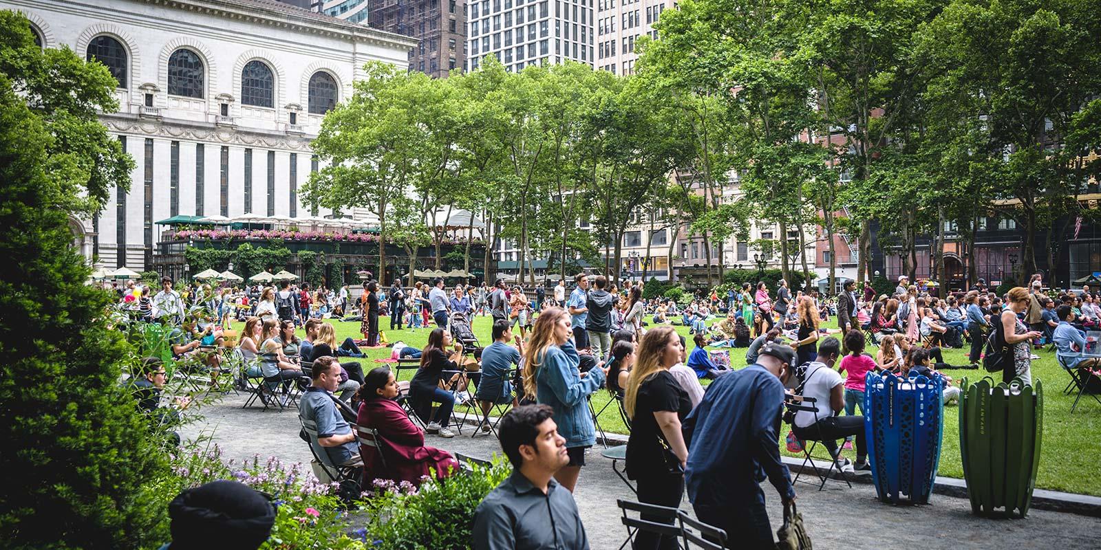 Bryant Park Film Festival New York