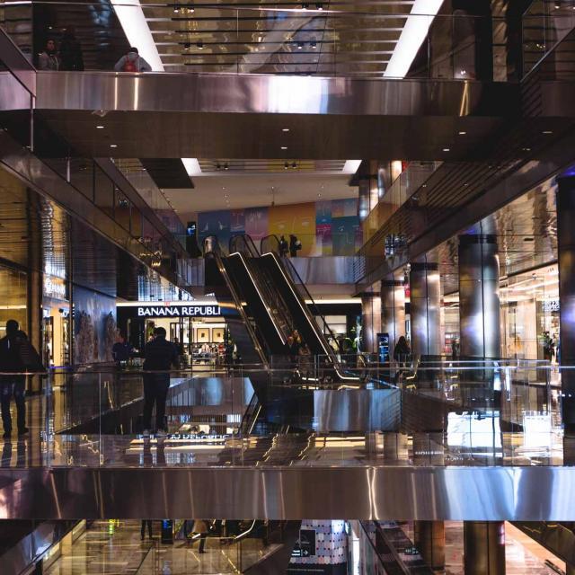 Shopping Malls in New York City