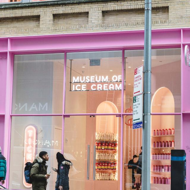The Museum of Ice Cream in NYC