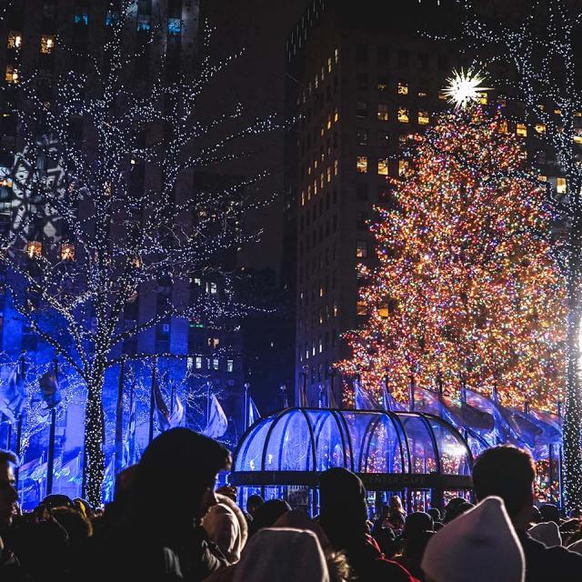Rockefeller Center Tree Lighting Party