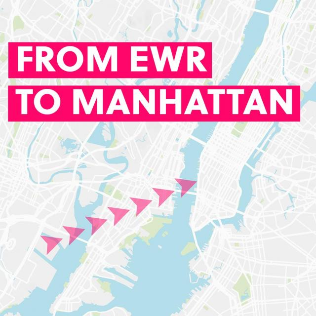 From Newark Airport to Manhattan & Back