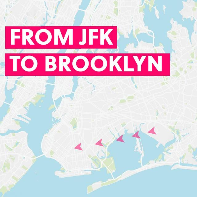 From JFK to Brooklyn & Back