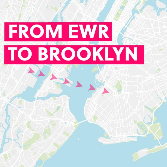 From Newark Airport to Brooklyn & Back
