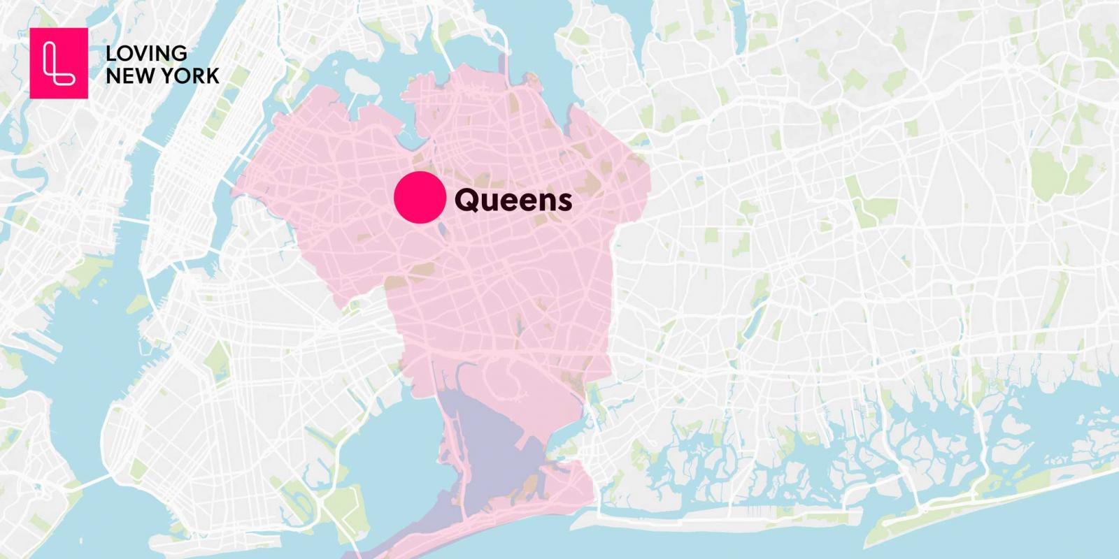 A general map of queens new york