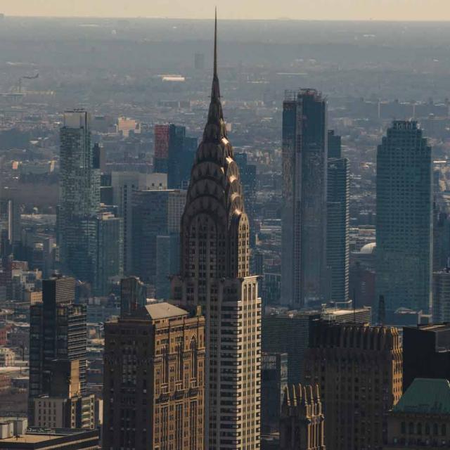 Chrysler Building Observation Deck in NYC