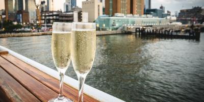Crucero con almuerzo con champán en la ciudad de Nueva York