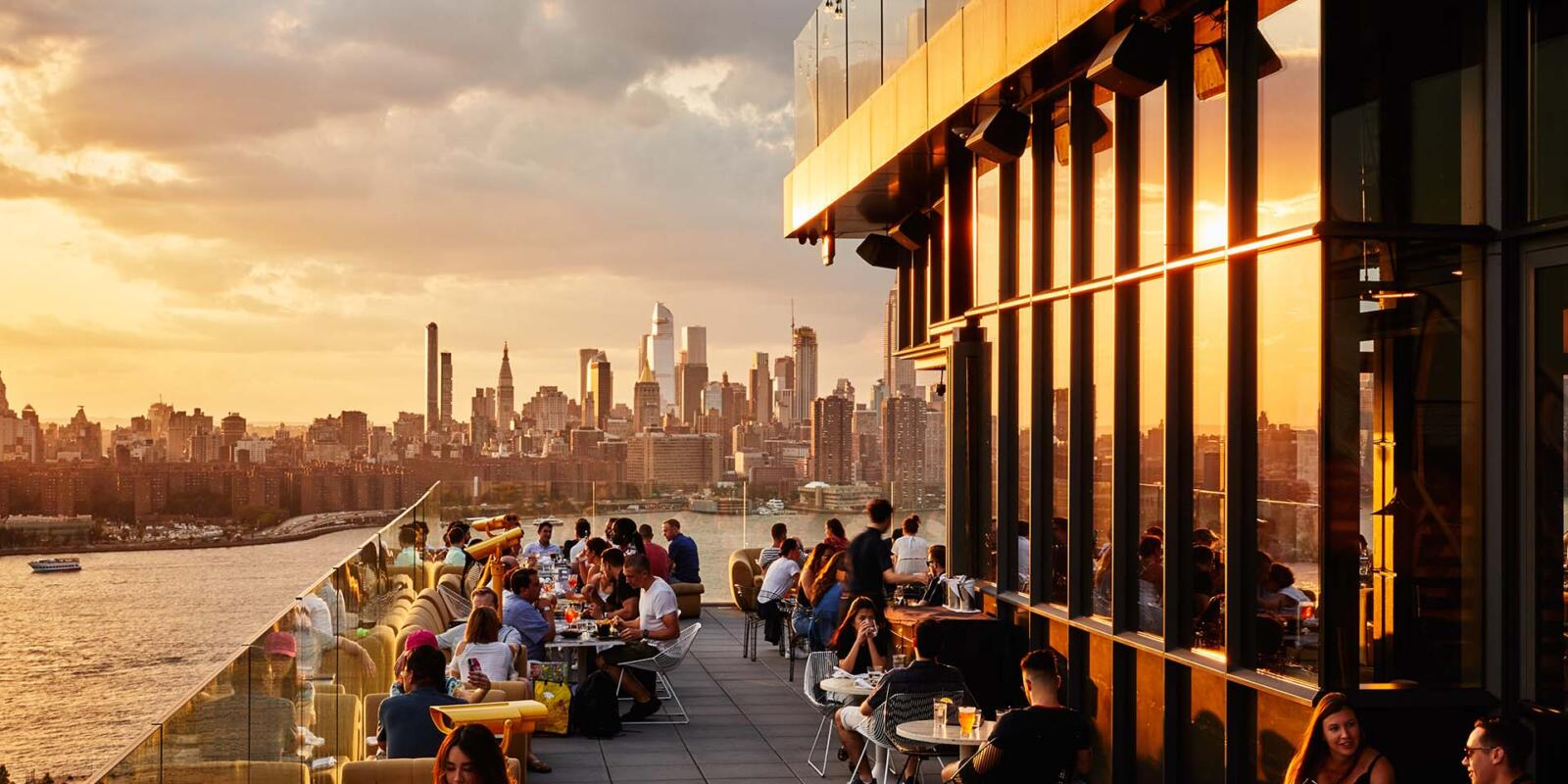 Rooftop Bar Westlight at The William Vale Hotel