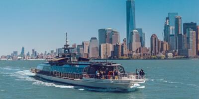Paseo en barco por Nueva York con almuerzo