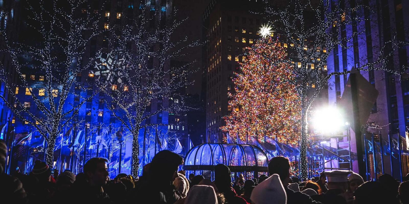 Árbol de Navidad de Nueva York Rockefeller Center