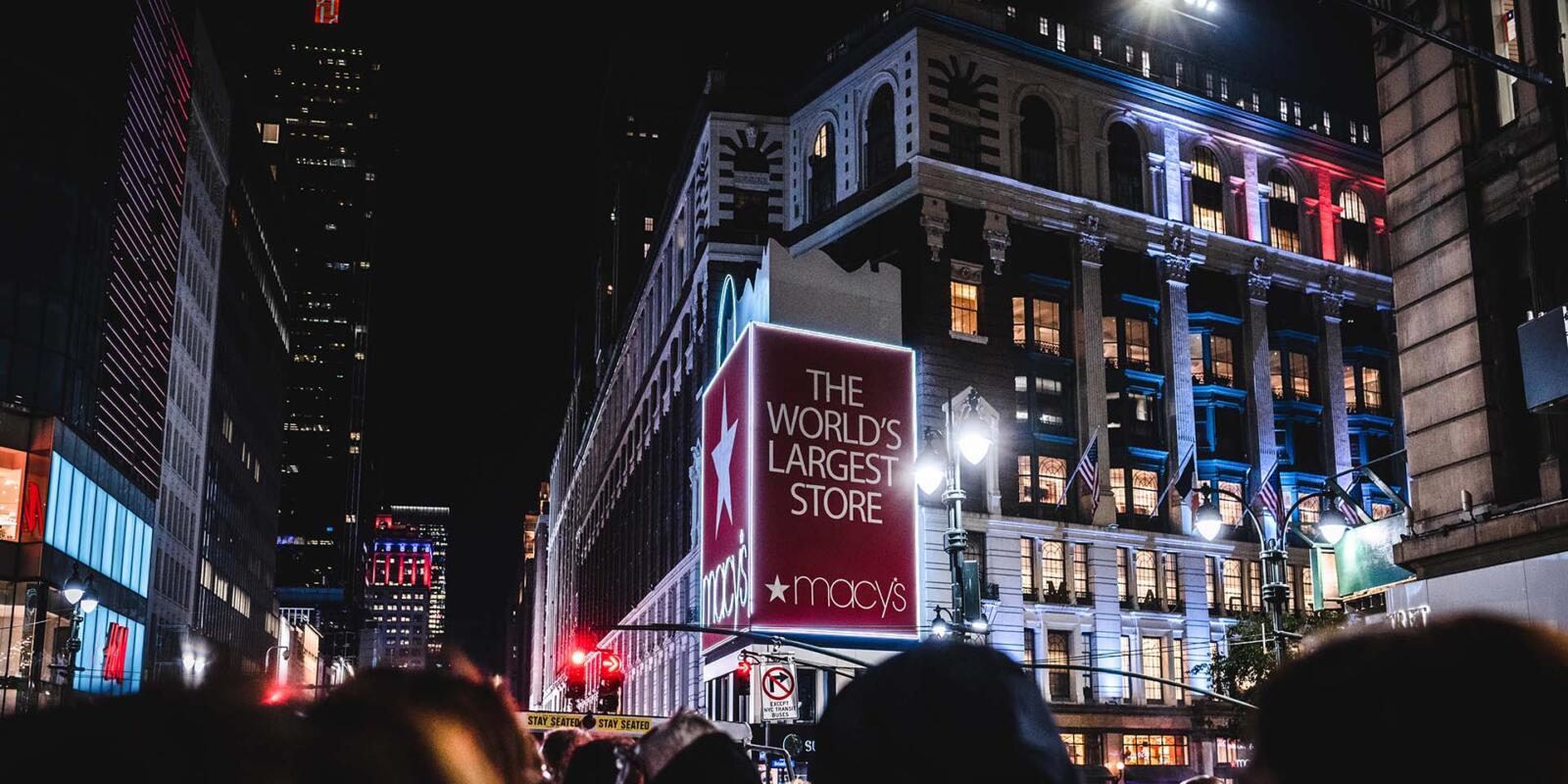 Mejor recorrido en autobús nocturno por Nueva York Loving New York Macy's Herald Square