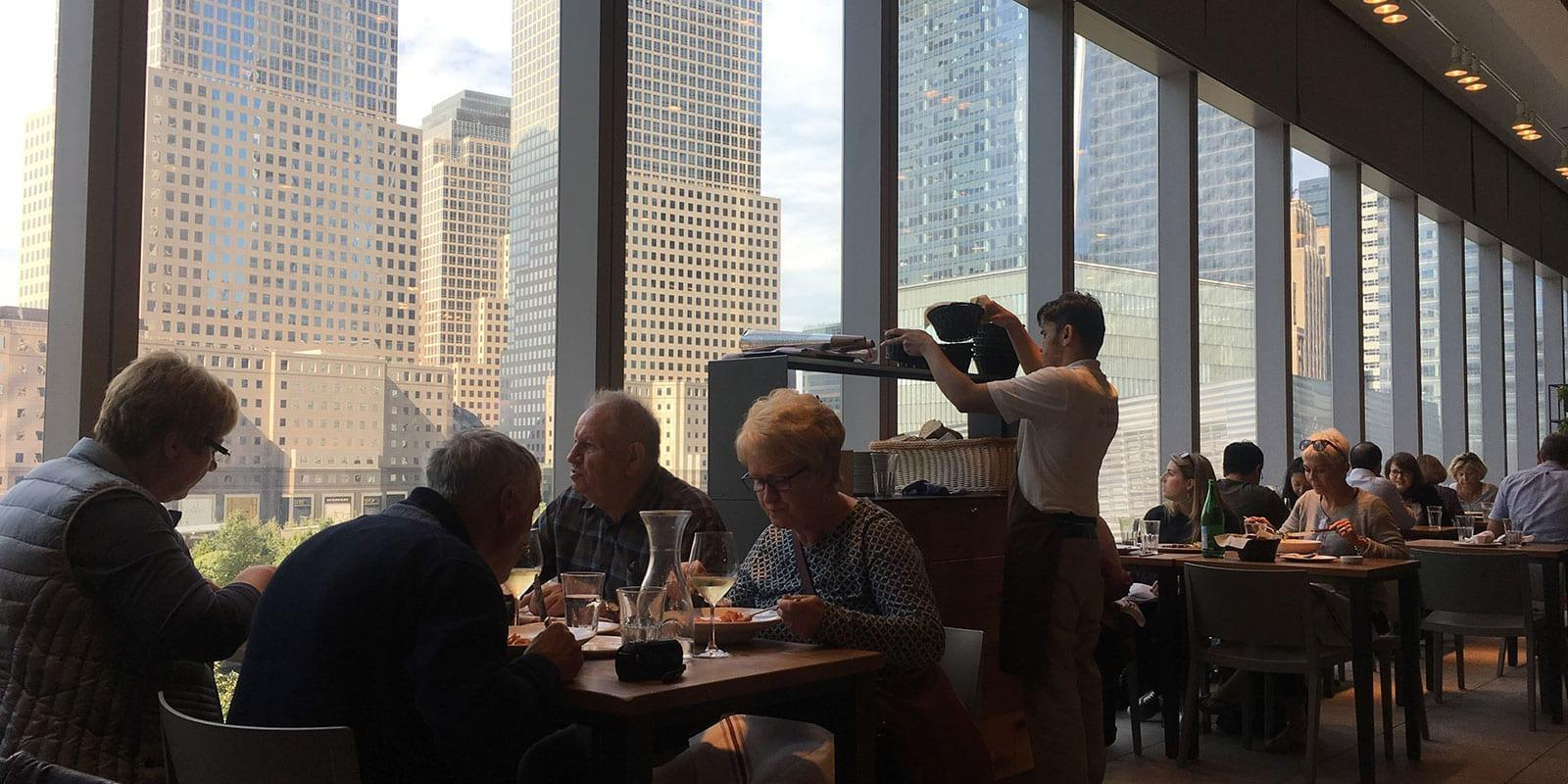 EATALY Downtown at the One World Trade Center