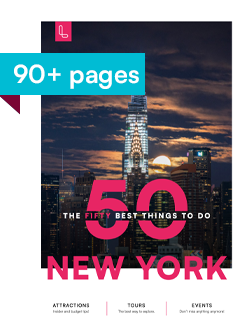 Magazine TOP 50 Things to Do in NYC by Loving New York